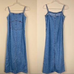 Ralph Lauren Vintage Denim Maxi Dress
